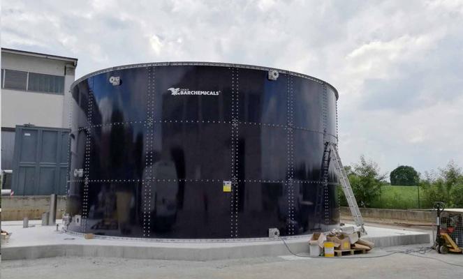 Tratamientos de agua - tanques de acero