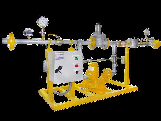 Soplador para biogás - atex - anti chispa - anti deflagrante