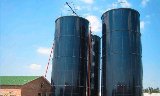 Tanques de acero vidriado para silos