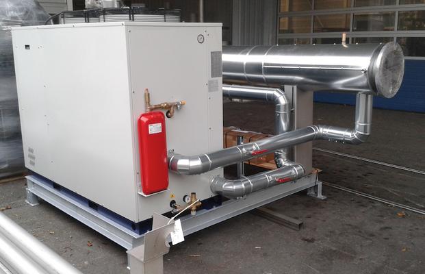 Enfriador de biogas