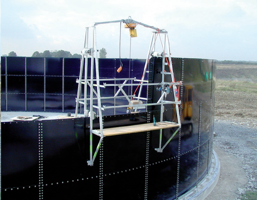 Fabricación de paneles de acero para tanques biodigestores