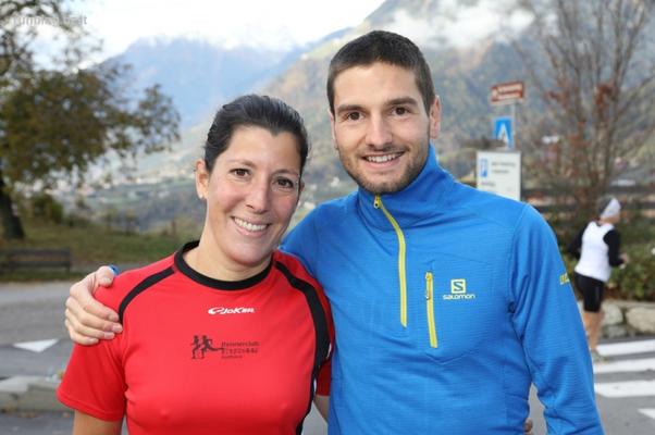Katja und Konstandin vor dem Start