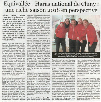 Article paru dans Le Cheval le 30 mars 2018