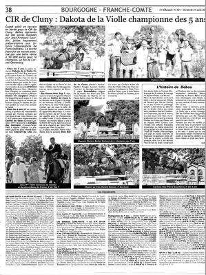 Article paru Le Cheval le 24/08/18