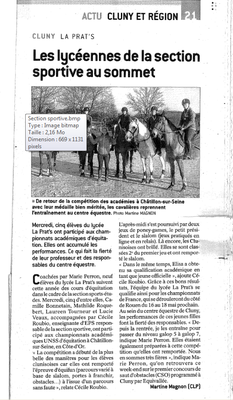 Article paru dans le JSL le 17/03/18