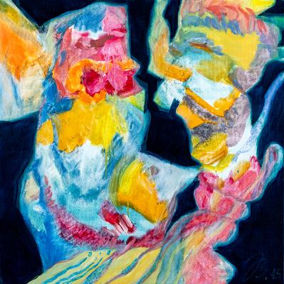Sonnenbrand | Öl auf Leinwand | 50x50cm | 2015