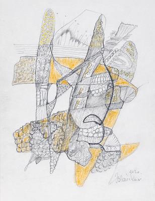Zeichnung 47 | 2020 | 148x210mm