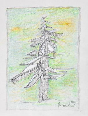 Zeichnung 69 | 2020 | 148x210mm