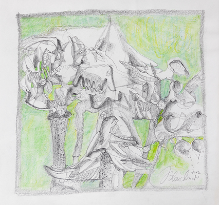 Zeichnung 17 | 2013 | 30x30cm