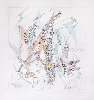 Zeichnung 23 | 2014 | 30x30cm