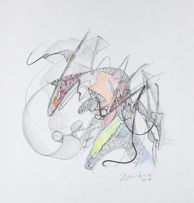 Zeichnung 35 | 2018 | 30x30cm