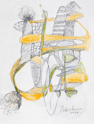 Zeichnung 68 | 2020 | 148x210mm