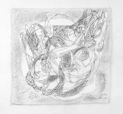 Zeichnung 02 | 2013 | 30x30cm