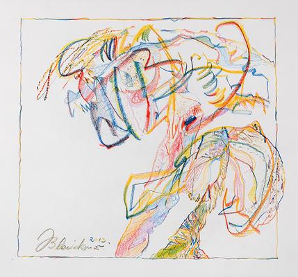 Zeichnung 09 | 2013 | 30x30cm