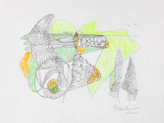 Zeichnung 64 | 2020 | 210x148mm