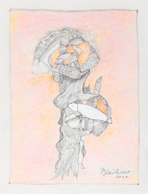 Zeichnung 45 | 2020 | 148x210mm