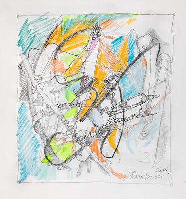 Zeichnung 05 | 2014 | 30x30cm