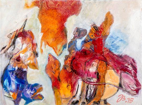 Safari | Öl auf Leinwand | 80x60cm | 2015