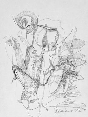 Zeichnung 55 | 2020 | 148x210mm