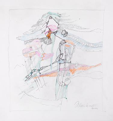 Zeichnung 21 | 2014 | 30x30cm