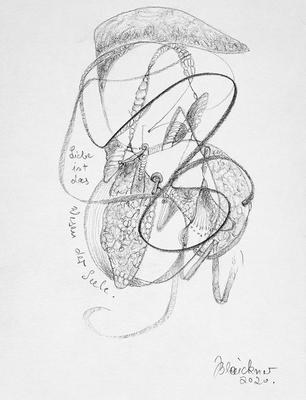 Zeichnung 52 | 2020 | 148x210mm