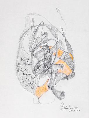 Zeichnung 54 | 2020 | 148x210mm