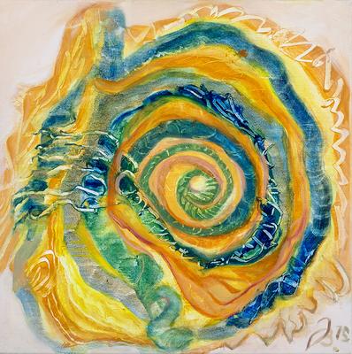 Schnecke | Öl auf Leinwand | 40x40cm | 2015