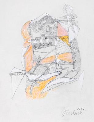 Zeichnung 50 | 2020 | 148x210mm