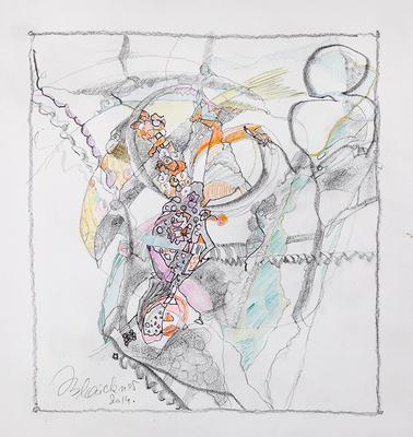 Zeichnung 20 | 2014 | 30x30cm