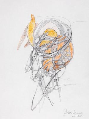 Zeichnung 65 | 2020 | 148x210mm