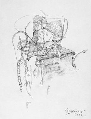 Zeichnung 56 | 2020 | 148x210mm