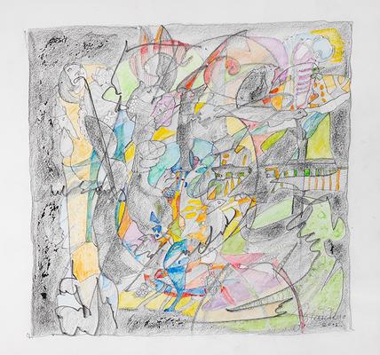 Zeichnung 13 | 2012 | 30x30cm