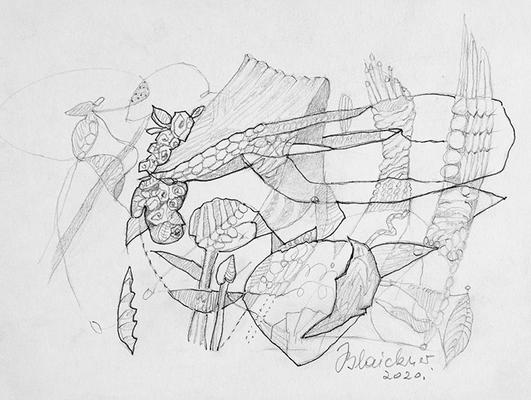 Zeichnung 63 | 2020 | 210x148mm