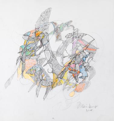 Zeichnung 15 | 2018 | 30x30cm