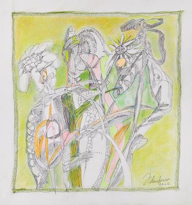 Zeichnung 18 | 2015 | 30x30cm