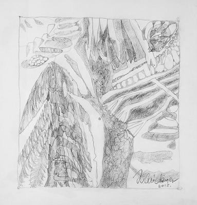 Zeichnung 26 | 2015 | 30x30cm