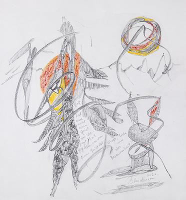 Zeichnung 39 | 2020 | 30x30cm