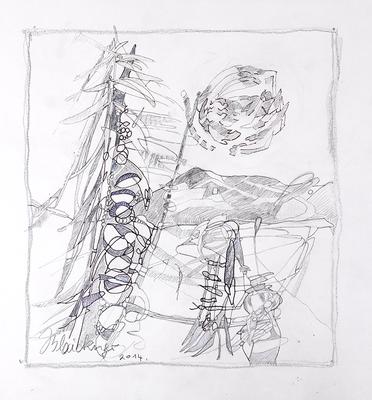 Zeichnung 24 | 2014 | 30x30cm