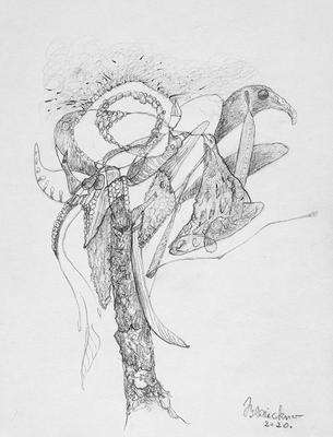 Zeichnung 57 | 2020 | 148x210mm