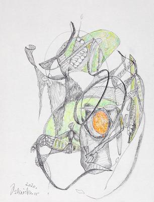 Zeichnung 66 | 2020 | 148x210mm