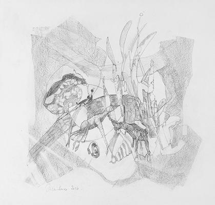 Zeichnung 27 | 2016 | 30x30cm