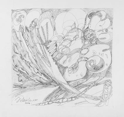 Zeichnung 31 | 2016 | 30x30cm