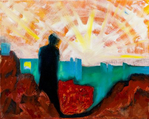 Im Licht | Öl auf Leinwand | 50x40cm | 2018