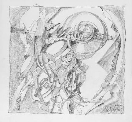 Zeichnung 14 | 2012 | 30x30cm