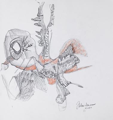 Zeichnung 42 | 2020 | 30x30cm