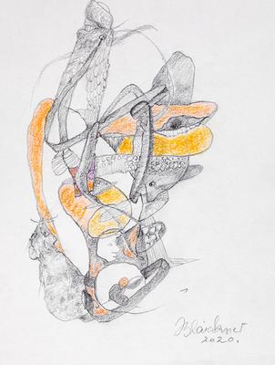 Zeichnung 67 | 2020 | 148x210mm