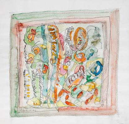 Zeichnung 12 | 2016 | 30x30cm