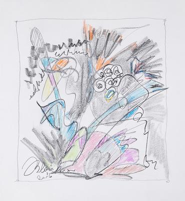 Zeichnung 28 | 2016 | 30x30cm