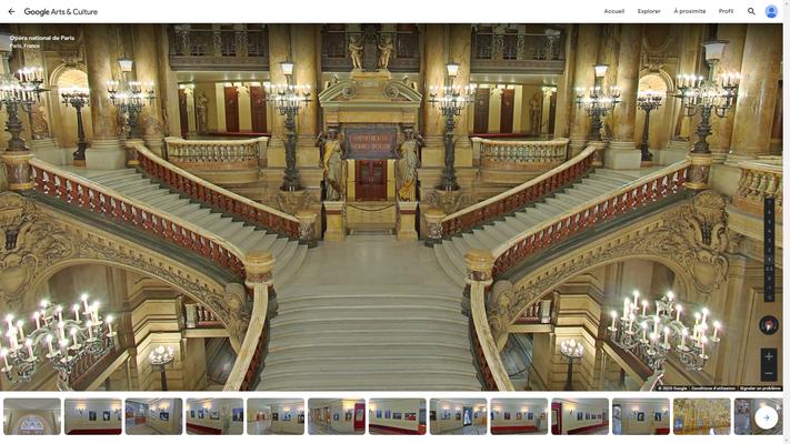 Visite en ligne Opéra Garnier CSE comité d'entreprise