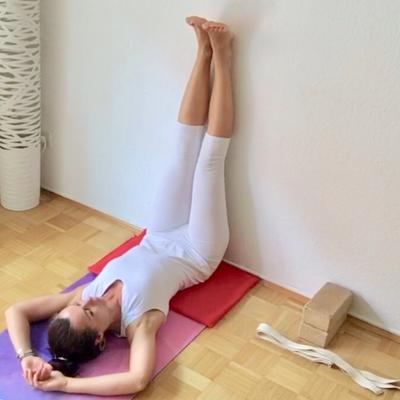 Viparita Karani, Yogahaltung zum Entspannen